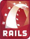 The Ruby on Rails logo